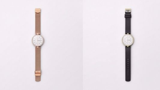 This compact hybrid smartwatch has been designed specifically for women