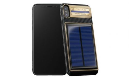 Solar-Powered iPhone X Case Will Cost $4,500
