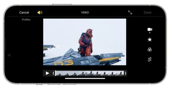 First look at ProRes video on iPhone 13 Pro, 13 Pro Max