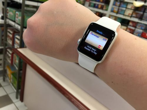 Using Apple Pay on Apple Watch