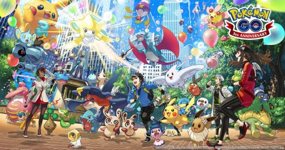 Pokémon Go's three year anniversary commemorated with new features