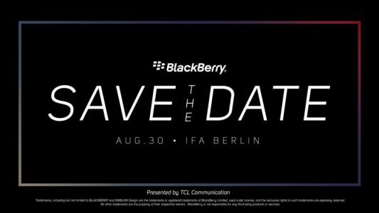 TCL invitation hints at possible BlackBerry Key2 LE launch