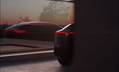 Seat's new CUPRA Concept EV previewed ahead of Frankfurt