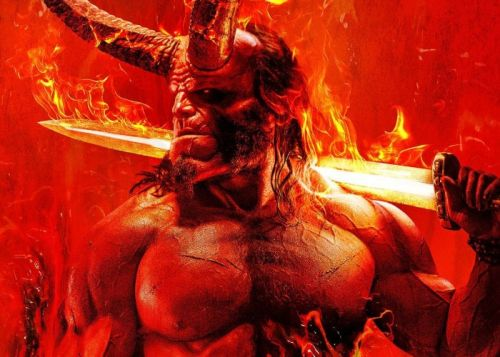 Hellboy 2019 movie featurette with David Harbour and Milla Jovovich