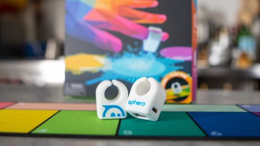 Sphero's silicone smart rings let kids make music with a tap of their fingers