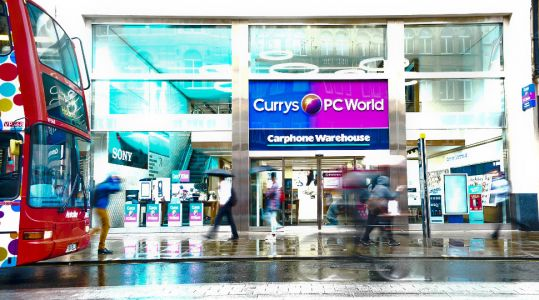 Mobile sales fall again at Dixons Carphone