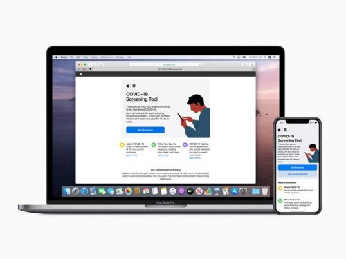 Apple updates COVID-19 app with new questions and recommendations