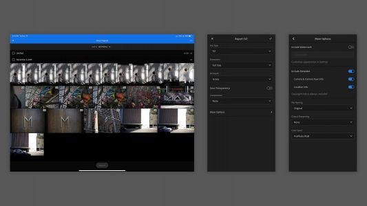 Direct photo import, advanced export now rolling out in Lightroom for iOS and iPadOS