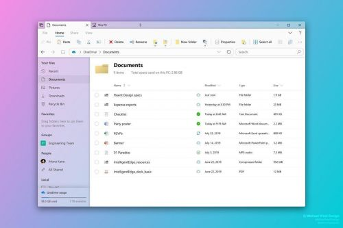 Microsoft Could Overhaul File Explorer's Design This Year