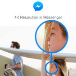 Facebook Messenger now allows you to send and receive high-res, 4K images