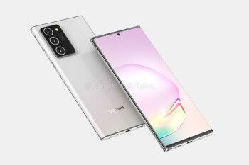 Leaked Galaxy Note 20+ 5G camera specs reveal 13MP persicope, 50X zoom, more