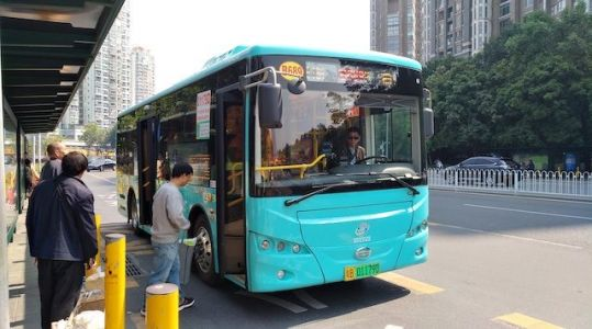 Shenzhen Boasts The World's First Fully Electric Bus Fleet