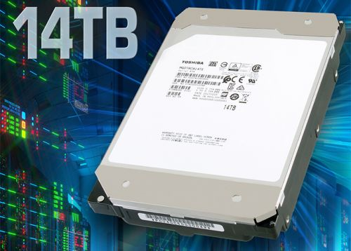 Toshiba's 14 TB HDDs Now Available from Supermicro