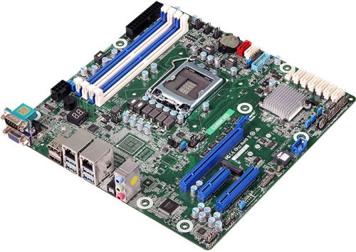 ASRock Launches C246M WS Micro-ATX Motherboard for Xeon E CPUs