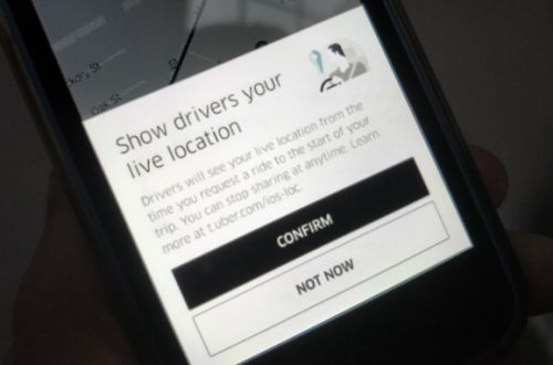 Uber now lets you share your live location with drivers to help them find you