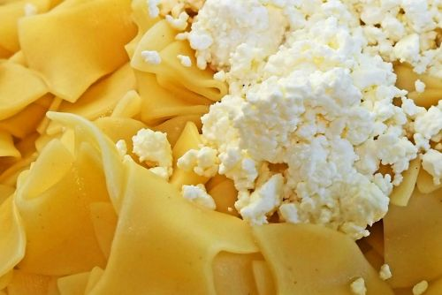 The Jewish Version of Macaroni and Cheese: Egg Noodles with Cottage Cheese