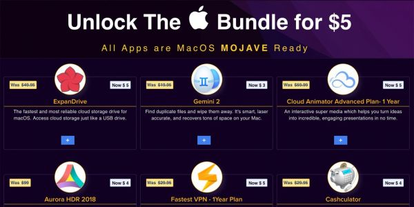 The latest BundleHunt Mac App bundle starts at $5 with your choice of 45 titles