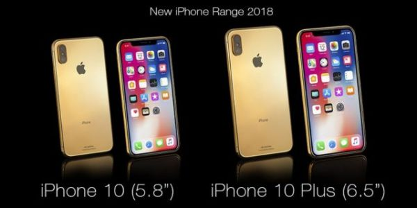 Luxury Retailer Already Taking Pre-Orders For Gold-Plated 2018 iPhones