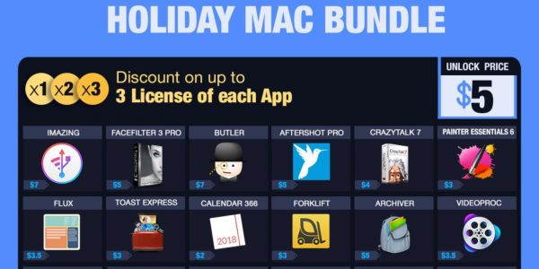 BundleHunt Holiday Mac App bundles start at $5 with over 45 apps and utilities