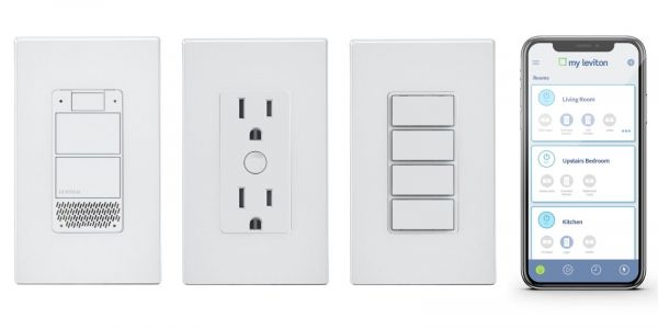 Leviton shows off Decora Voice smart light switch with built-in Alexa voice control, smart 4-button controller, new app, more