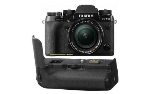 Fujifilm X-T3 Will Launch With New Vertical Battery Grip