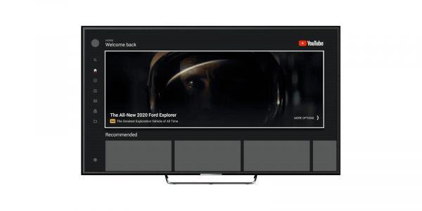 YouTube's app for TVs is adding a massive auto-playing video ad on its homepage