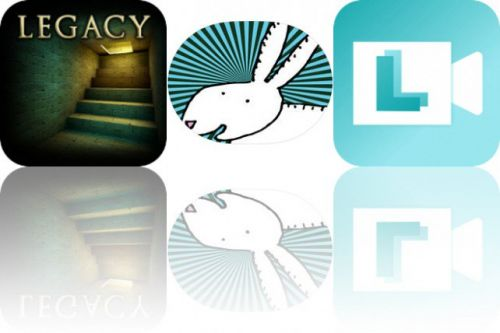 Today's Apps Gone Free: Legacy 2, Happy Rabbits Stickers and Life Lapse