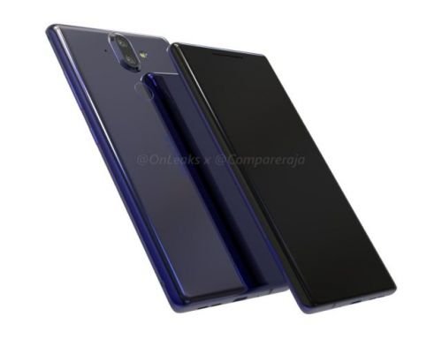 Nokia 9 Leaked Renders Highlight Curved Display And Dual Camera