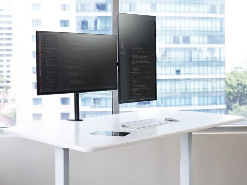 The new Autonomous SmartDesk 3 has a built-in touchscreen and AI software