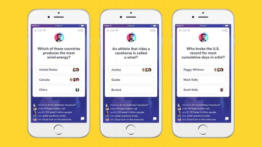 Phone a friend: HQ Trivia adding answer sharing with friends for select games