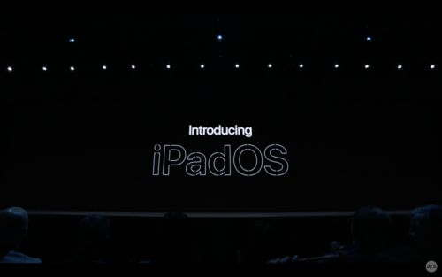 "IPadOS, coming ""this fall"": Thumb drives, more gestures, ""desktop-class"" browsing"