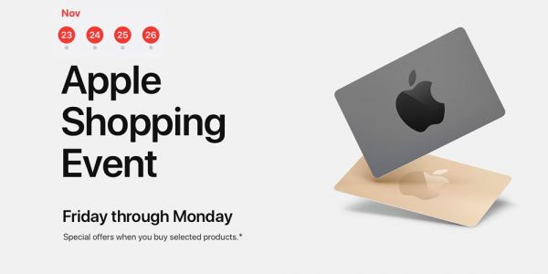 Apple 4-day 'shopping event' offers gift cards with iPhones, iPads, Macs and more