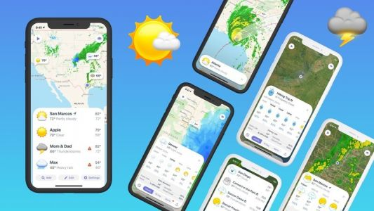 Contrast's Weather Atlas 2.0 is now Weather Up