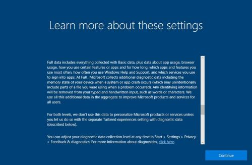 Privacy enhancements coming to the Windows 10 Fall Creators Update