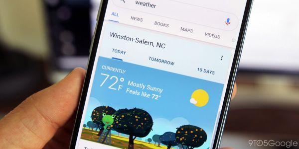 Google redesigns search cards for weather and movie showtimes w/ character, posters