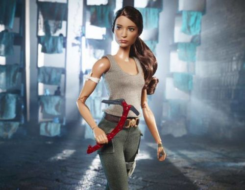 Mattel Unveils Their 'Tomb Raider' Barbie
