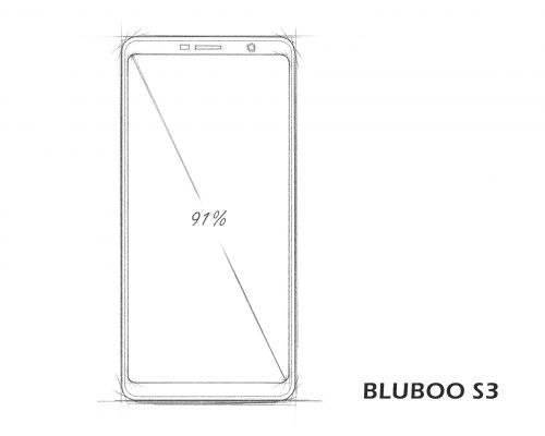 BLUBOO S3 Coming With 8,500mAh Battery, Sharp's Display