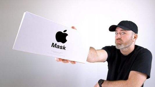 Unbox Therapy has unboxed the official Apple Mask