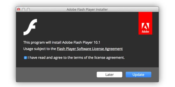 PSA: There's a new fake Flash Player installer for Macs, and it's nastier than usual