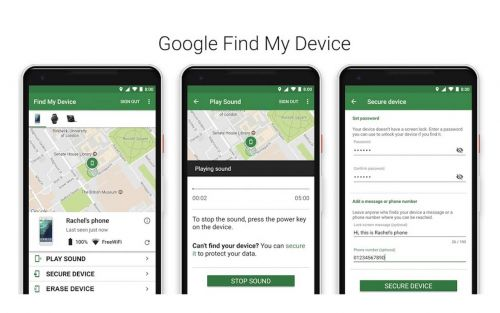 Google could be working on a Find My Device network