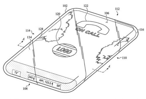New Apple patent shows us how an all-glass, all-screen iPhone would work