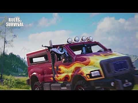 How to Win in Rules of Survival's New Death Race Game Mode