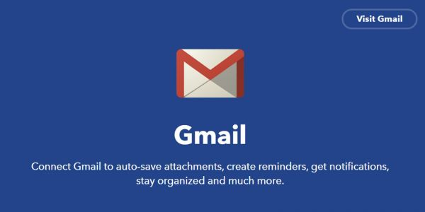 Gmail will drop support for IFTTT integration starting March 31
