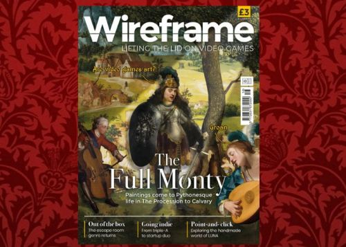 Wireframe gaming magazine issue 16 now available