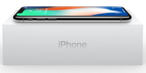 IPhone X with new wallpaper shown off in the wild thanks to new video