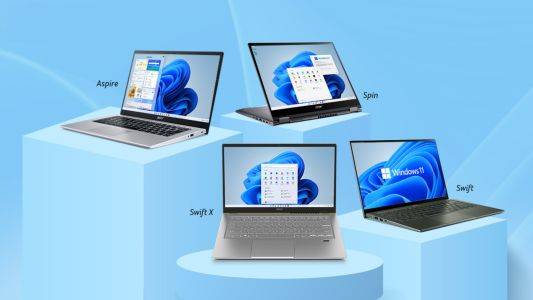 Acer launches new Aspire, Swift, and Spin laptops with Windows 11 in India