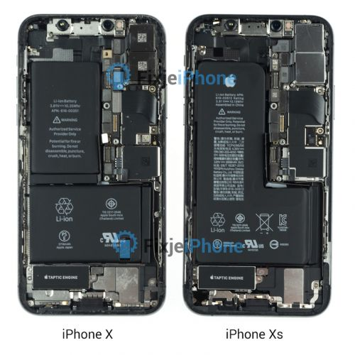 IPhone XS Teardown Reveals New Single-Cell L-Shaped Battery