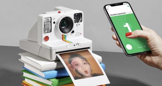 Can you save photos with the Polaroid OneStep+?