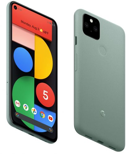 Google Unveils New Flagship Pixel 5 Smartphone With 5G and $699 Price Tag