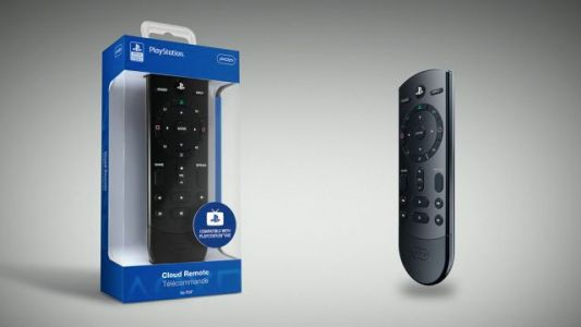 PS4 Cloud Remote control is perfect for movie marathons